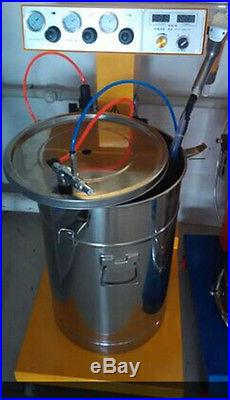100kv professional powder coat paint system with tank