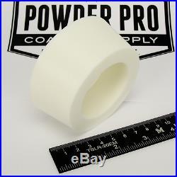 (1) 3 x 3.5 #14 High Temp Silicone Rubber Powder Coating Paint Masking Plug
