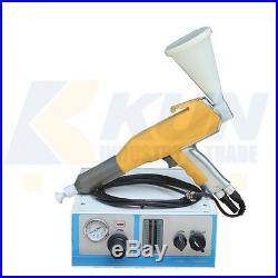 2019 hot sale Portable paint color test electrostatic powder coating machine