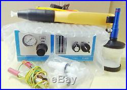 2020 hot sale Portable paint color test electrostatic powder coating machine