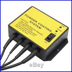 220V Spray Paint Gun PC02 Portable Electrostatic Machine Powder Coating System