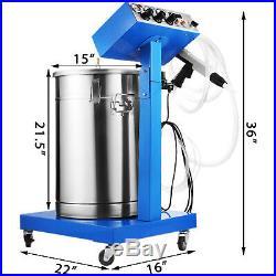 45L Powder Coating System Machine Electrostatic Deep Corners Paint System WX-958