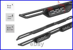 7.5 Nerf Bars for 05-21 Toyota Tacoma Double Crew Cab Side Steps Running Boards