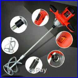 800RPM Industrial grade electric cement paint putty powder coating mixer 220V