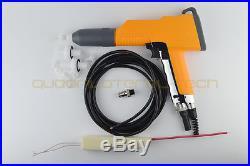 AfterMKT shell of Manual Electrostatic powder Coating spray paint gun+HV+4M Wire