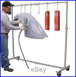 Automotive MOBILE Painting Rack Door Hood Stand Auto Body Air Gun Spray Paint