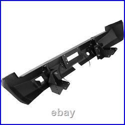 Black Rear Stealth Winch Bumper For 02-09 Dodge Ram 1500/2500/3500/4500/5500 NEW