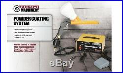 Central Machinery Powder Coating System Electrostatic Paint Gun 10-30 PSI New