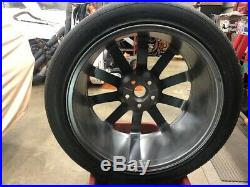 Chrysler USED 300 SRT8 Wheel Paint Shop PowderCoat Argent Silver Nice See Photos