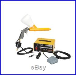 Complete 10-30 PSI Powder Coating System Paint Gun perfect for home or shop