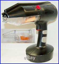 Craftsman Electric Powder Coat Spray Gun 2 CANISTER Metal/Tin Finisher car paint