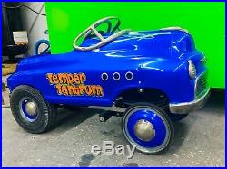 Custom Gasser Pedal Car Candy Powder Coat and Hand Painted Pin Striping