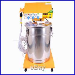 EU 220V Electrostatic Powder Coating Machine Paint System & Spray Gun 40L