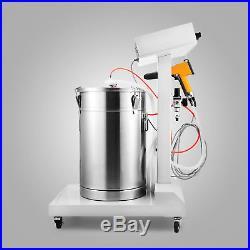 Electrostatic Powder Coating Spray Gun Wx-101 24v DC Paint System 500g/min
