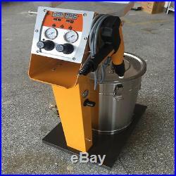 Electrostatic Spray Powder Coating System Machine Spraying Gun Paint System T