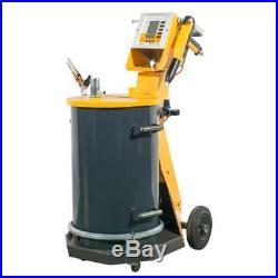 Electrostatic powder coating system paint spray 55L plastic powder flat surface