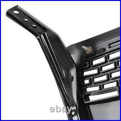 Fits 2004-2008 Ford F150 Black ABS Raptor Style Front Bumper Upper Hood Grille