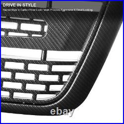 Fits 2004-2008 Ford F150 Raptor Style Bumper Hood Grille Black Carbon Fiber Look