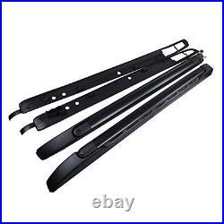 For 05-19 Toyota Tacoma Double Cab OE Style Roof Rack Side Rails Bars Set Kit