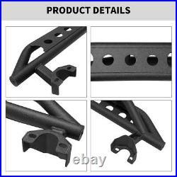 For 07-18 Jeep Wrangler JK 4 Door Steel Side Step Armor Nerf Bars Running Boards