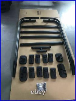 For 10-21 Toyota 4Runner OE TRD PRO Style Roof Rack Sport Free 1 Extra Bar Black