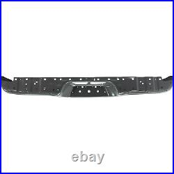For 2000-2006 Tundra Standard Bed Rear Step Bumper Face Bar Powdercoated Gray