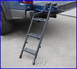 For Full Size PIckup Truck F150 F250 Sierra RAM TUNDRA HD Tailgate Ladder Step