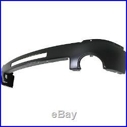 Front Bumper for 2007-2013 GMC Sierra 1500 Sierra 2500 HD Painted Black Steel