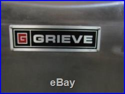 Grieve Industrial 550°F Forced Convection Oven Paint Powder Coat 2400W 115V 1Ph
