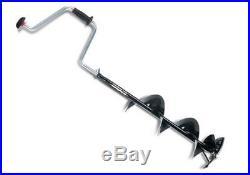 Hand Lazer ICE AUGER 7 Powder Coated Paint Ergonomic Adjustable Handle System