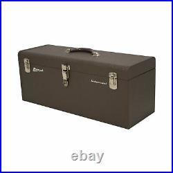 Homak 24-Inch Industrial Steel Toolbox, Brown Wrinkle Powder Coat, BW00200240