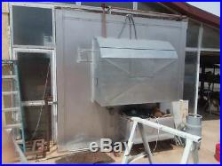 Industrial Gas Fired Batch Powder Coating Drying Curing Paint Oven