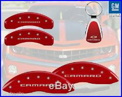 MGP Caliper Brake Cover For Chevy 10-15 Camaro Red Paint 14036SCA5RD