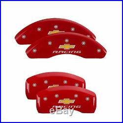 MGP Caliper Brake Covers for Chevrolet 2013-2016 Sonic Red Paint 14229SBRCRD