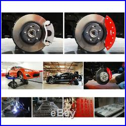 MGP Caliper Brake Covers for Dodge 2011-2018 Grand Caravan Red Paint 12200SDD3RD