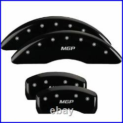 MGP Caliper Brake Covers for Infiniti 14-18 Q50 Black Paint 37022SMGPBK