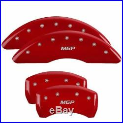 MGP Caliper Brake Covers for Lexus 2016-2019 RX350 Red Paint 38026SMGPRD