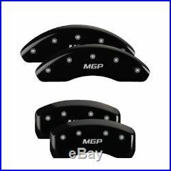 MGP Caliper Brake Covers for Mazda 2016-2019 CX-3 Black Paint 26219SMGPBK