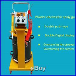New Electrostatic Spray Powder Coating System Machine Spraying Gun Paint System