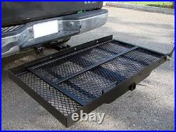New Mobility Carrier Wheelchair Scooter Rack Disability Medical Ramp Hitch Mount