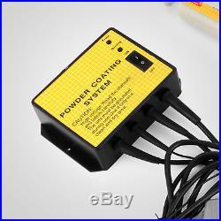 PC02 Powder Coating System Electrostatic Paint Gun 10-15PSI Electrostatic 3.3W