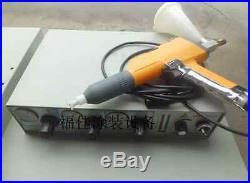 Portable Lablectrostatic Powder Coat Paint System Coating Machine 220V#