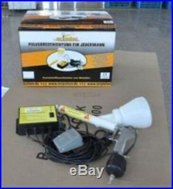 Portable Paint Gun Coat Powder Coating System New si