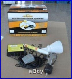 Portable Powder Coating System Paint Gun Coat New re