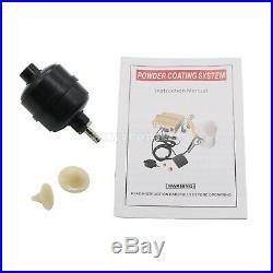 Powder Coating Gun System Car Paint Sprayer Auto Machine DIY Pneumatic PC03-5 UK