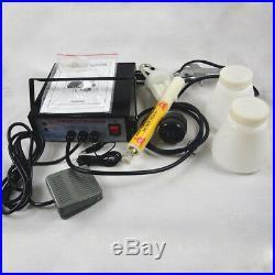 Portable Powder Coating system paint Gun PC03-5 10-15 Psi 5Cfm Air Paint Gun
