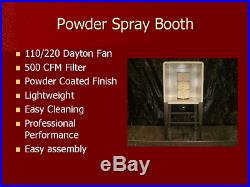 Powder Coating Booth, spray booth, paint booth, dust collector