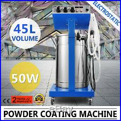 Powder Coating System Machine Electrostatic 45L Painting Spray