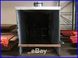 Powder coating or wet paint booth 9 long