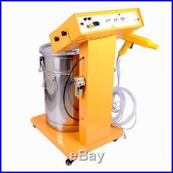 Professional Electrostatic Powder Coating Machine Spray Gun Paint System